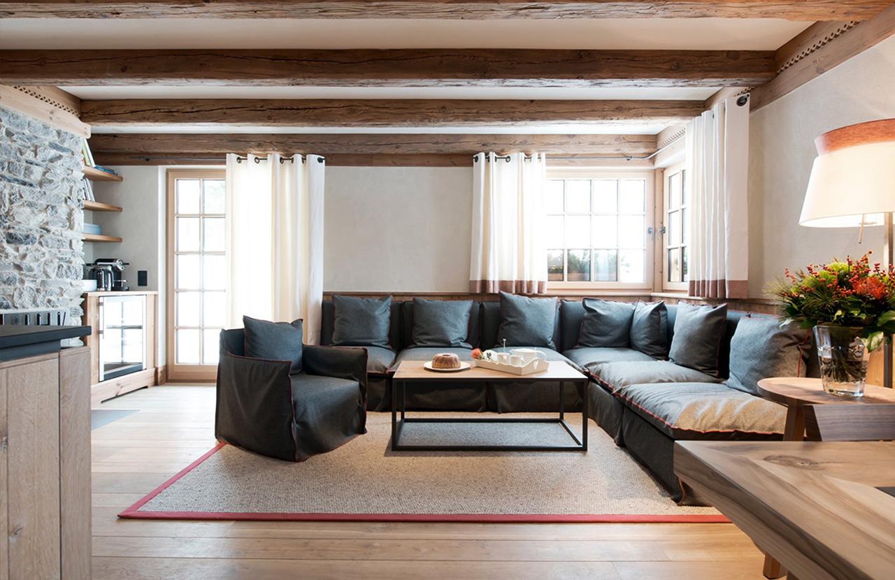 urlaub im chalet lech private luxus ferienwohnungen am arlberg. Black Bedroom Furniture Sets. Home Design Ideas